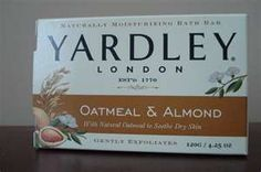 Yardley Oatmeal & Almond- Wonderful in the winter time for dry itchy skin. Yardley Soap, Home Remedies, Natural Remedies, Smell Good, Winter Time, Almond, Oatmeal, Skin Care, Dry Skin