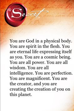 TheSecret....it will change your life