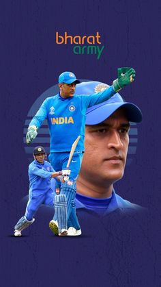 Bharat Army Wallpaper of the Week featuring the legendary Captain Cool, 'Thala' MSD! India Cricket Team, World Cricket, Cricket Sport, Cricket Wallpapers, Sports Wallpapers, Dhoni Captaincy, Dhoni Quotes, Ms Dhoni Wallpapers, Cricket Quotes