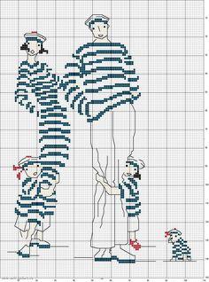Sticken Kreuzstich - cross stitch free + big pattern -