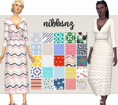 A Rusty Wrap Dress25 recolours of Rusty's wrap dress.  • 25 swatches  •  This is NOT a standalone file and you can find the recolours with @rusty-sims in the game (I find that way more useful personally)  • You MUST have @rusty-sims mesh to use this |...