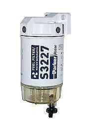 Marine Inboard /& Outboard Engine Water Separating Petrol Fuel Filter Assembly