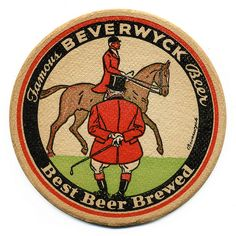 Beverwyck Breweries Inc., Albany, New York Sous Bock, Epic Of Gilgamesh, Beer Mats, American Beer, Tally Ho, Pin Up Posters, Beer Coasters, Fox Hunting