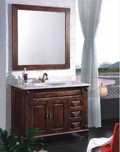 Cool antique bathroom vanity