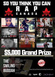 8 Best So You Think You Can Rap Canada images in 2018