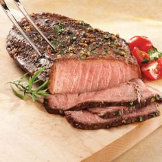 How to Grill a Flank Steak using Worchester Sauce as a marinade (On stove top).