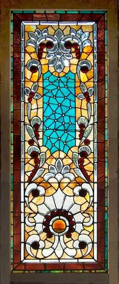 Age of Elegance Antique American Stained Glass