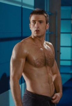 Image detail for -... Hunk Chris Evans Shirtless, Wet, in a Towel 2 | FAMOUS HOT GUYS