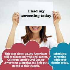 See Dr. Clint Bruyere, a dentist in Longview, Texas for your oral cancer screening.            #SmileOasis.com