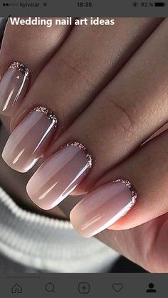 99 Captivating Neutral Nail Art Designs Ideas To Copy In 2019 You are in the right place about Manicure black Here we offer you the most beautiful pictures about the Manicure winter you are looking fo Simple Wedding Nails, Wedding Nails Design, Neutral Wedding Nails, Wedding Pedicure, Nail Art Vernis, Nail Nail, Neutral Nail Art, Nagellack Trends, Pink Nail Polish