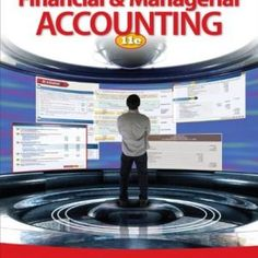Solution Manual (Downloadable) for Financial And Managerial Accounting 11/E by Warren