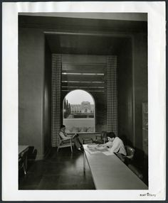 Liberal Arts reading room, 1950