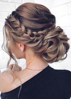 Long updos wedding hairstyles from mpobedinskaya .- Lange Hochsteckfrisuren Hochzeit Frisuren von mpobedinskaya – Beauty New Long Updo Wedding Hairstyles by mpobedinskaya … - Long Bob Hairstyles, Wedding Hairstyles For Long Hair, Wedding Hair And Makeup, Updos For Wedding, Hair Styles For Wedding, Updos For Brides, Updo For Long Hair, Up Dos For Medium Hair, Wedding Themes