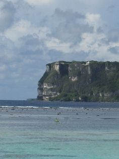 Two  Point in Guam.  In the '60,more natural without safety barriers,etc.   ...a beautiful place to go and look out over the ocean aand watch the waves.