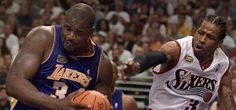 Shaq - Iverson - Hall Of Fame