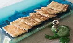 This Passover recipe for Geshmirta Matzah is perfect for cooking with kids. TIDBIT: Children will find it easier to blend ingredients by hand if using whipped cream cheese.