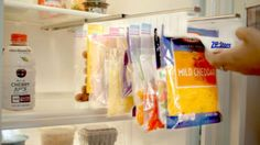 The coolest way to store food and other items in your fridge or cupboard.