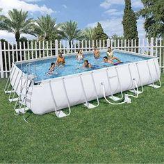 Piscina Tubular 671x366x132 #piscinas #jardin