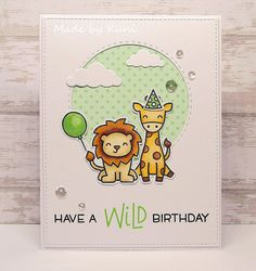 Kuni's Bastelblog : Have a Wild Birthday