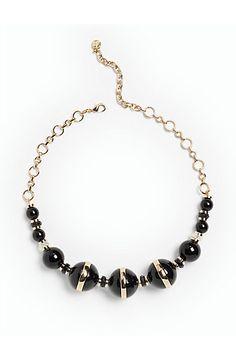 Split-Bead Necklace - Talbots