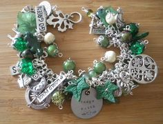 HEDGE WITCH Bracelet pagan wiccan Goddess Hedgewitch