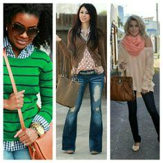 #winter #fashion #color
