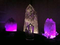 Light up crystals with an InstaMorph base