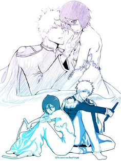 Snow White and her Prince. Beautiful drawn especially using Kubo's official clothing for Rukia and Ichigo being her prince. *love and fangirling* DawnTwilight @ DA Bleach Ichigo And Rukia, Kuchiki Rukia, Bleach Anime, Bleach Couples, Bleach Fanart, Kings Game, Shinigami, Anime Ships, Anime Couples