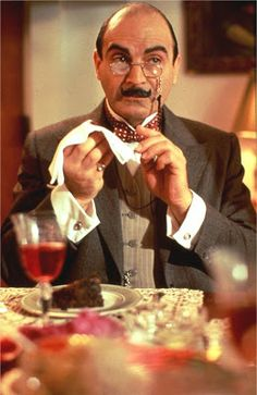 David Suchet as the Famous Little Belgian Detective, Hercule Poirot Hercule Poirot, Agatha Christie's Poirot, Best Mysteries, Murder Mysteries, Mrs Marple, Bbc Tv Shows, David Suchet, Cinema Tv, John Malkovich