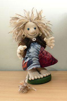 Crochet troll by Annie's Granny Design