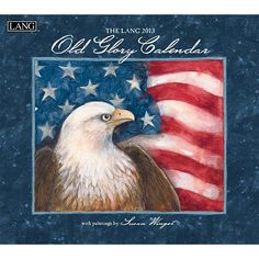 """Susan Winget Old Glory Wall Calendar: """"Old Glory"""" by Susan Winget is beautifully patriotic and highlights profound statements from past American prolific figures. Industry rated as the #1 calendar since 1999, LANG Wall Calendars are the most popular brand among consumers year after year.  $15.99  http://calendars.com/Patriotic/Susan-Winget-Old-Glory-2013-Wall-Calendar/prod201300001739/?categoryId=cat00377=cat00377#"""