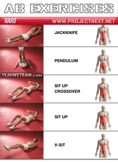 Sixpack Workout HARD Part 2 - Abs Abdominal Crunch Exercise Gym