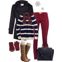 """Winter Outfit!"" by jjanstover on Polyvore"