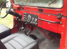 1982 Jeep CJ-7 Laredo Interior