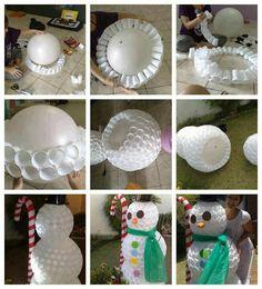 An easy snowman