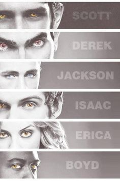 Teen Wolf can't wait for the next season to start! Erica and Scott my favorite characters!! <3