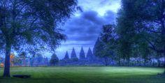 Prambanan, tempi induisti sull'isola di Giava, Indonesia