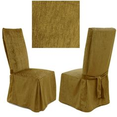 Chenille Mink dining chair cover is absolutely stunning. Offers best of two worlds luxurious feel and durability. This incredibly rich and durable dining chair cover compliments a variety of decorating styles. This plush and versatile #slipcover works in virtually any setting.