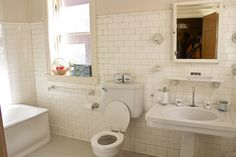 James A. Charnley Residence aka Charnley-Persky House. Interior - Bathroom. 1365 N. Astor St, Chicago, IL 60610.