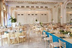 Posy, peacock blue wedding, green and white wedding, botanical, centerpiece, bouquet, Westin, Columbus Ohio