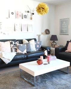schlafsofas wohnzimmer schwarzes sofa elegant wohnzimmer, Deko ideen