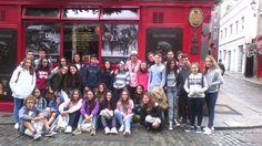 ➸ #TECLife, más despedidas en #Kilkenny. ¡Buen viaje chicos! Nosotros seguimos disfrutando de esta encantadora ciudad  #CursosdeIdiomas #Irlanda  Learn English, Inglés, English, Learn English, Aprender Ingles, Cursos de Idiomas, estudiar inglés en el extranjero, study abroad