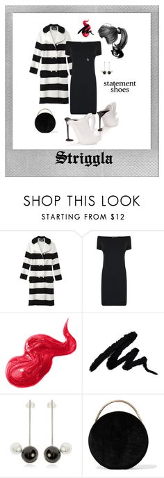 """Statement Shoes"" by striggla on Polyvore featuring Polaroid, Moschino, Helmut Lang, Supersonic, Bobbi Brown Cosmetics, Maison Margiela and Eddie Borgo"