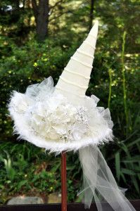 How to make your own white witch hat