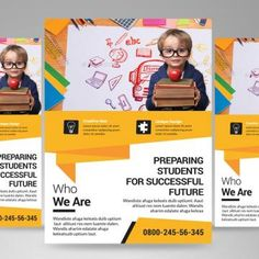 Educate Your Children At Home With These Essential Tips 5 – Education Flyer Design, Design Brochure, Brochure Layout, Ad Design, Brochure Template, Flyer Template, Tatto Quotes, School Brochure, Prospectus