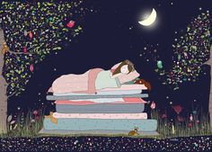 The Princess and the Pea - Amélie Biggs Laffaiteur - L'Affiche Moderne