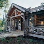 Timber Frame Home - Rustic Renewal 1