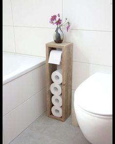 Bathroom ideas for small bathrooms - so you gain more Badezimmer Ideen für kleine Bäder- so gewinnt man mehr Platz Bathroom ideas for small bathrooms sloping toilet paper - Diy Bathroom, Bathroom Storage, Budget Bathroom, Bathroom Ideas, Bathroom Makeovers, Bathroom Designs, Bathroom Renovations, Gold Bathroom, Bathroom Pictures