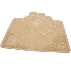 Cat Litter Mat 2Mat Set  Soft and Durable Pet Litter Mats for Cats Dogs and Puppies  One Large 355 x 235 and One Medium 215 x 175 by Pet Magasin ** Click on the image for additional details.
