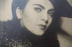 Maria Tanase (1913 - 1963), renowned Romanian singer of traditional folklore